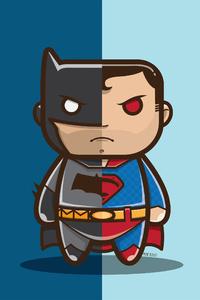 Batman V Superman Artwork 4k