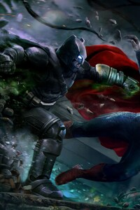 360x640 Batman V Superman Best Art