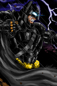 Batman V Superman Fan Art Illustration
