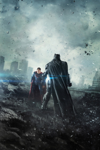 240x400 Batman V Superman Movie 4k