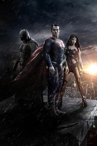 240x400 Batman V Superman Movie Poster