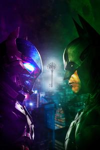 Batman Vs Batman Knight 4k