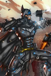720x1280 Batman Vs Deathstroke Dc Fight 5k