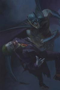 1242x2688 Batman Vs Joker New