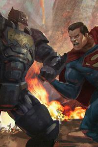 Batman Vs Superman Artwork