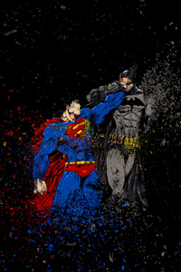 Batman Vs Superman Ruggon Style
