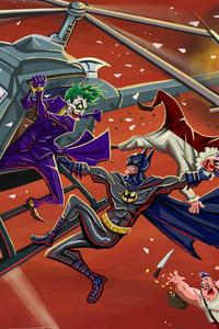 Batman Vs Villians 4k