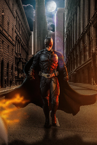 540x960 Batman Walking 4k
