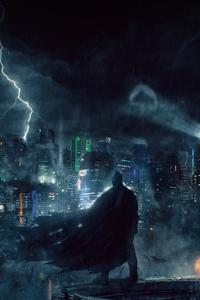Batman Watching Gotham