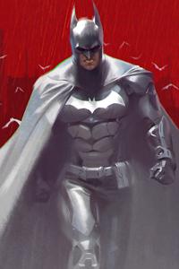 540x960 Batman White Suit 5k