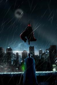 1125x2436 Batman With Kryptonite