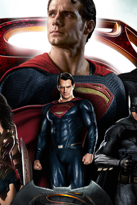 360x640 Batman Wonder Woman Superman