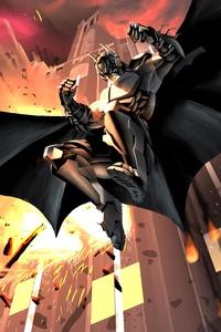 Batman X Bane 8k