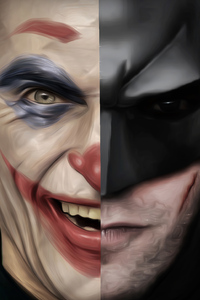 Batman X Joker 4k