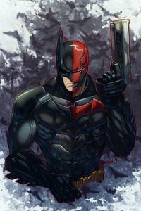 720x1280 Batman X Redhood 4k