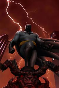 1280x2120 Batman4k2019