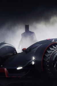 Batmobile Batman 4k