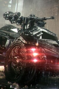 Batmobile In Arkham Knight