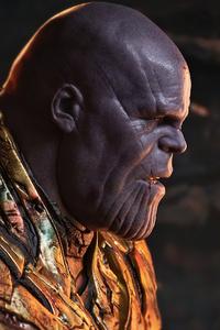 1080x1920 Battle Damaged Thanos