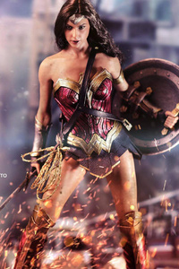 Battle Ready Wonder Woman