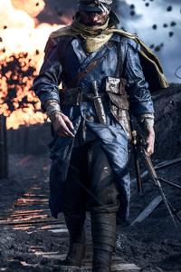 1080x2280 Battlefield 1 Soldier