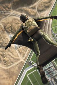 1440x2560 Battlefield 2042 Wingsuit Jump 5k
