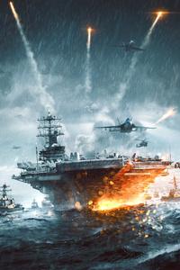 540x960 Battlefield 4 Naval Strike 4k