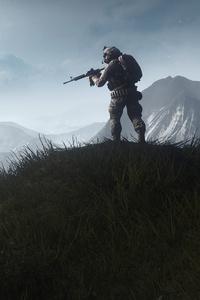 640x1136 Battlefield 4 Sniper 4k