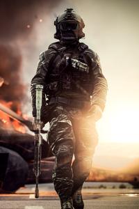 Battlefield 4 Solider 4k