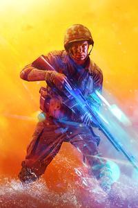 480x800 Battlefield 5 2019 4k