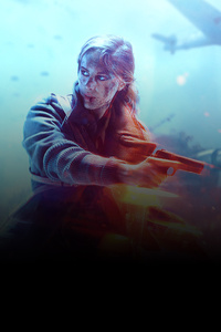 Battlefield V Warrior Girl