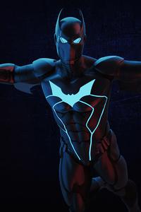1440x2960 Batwing Neon 4k