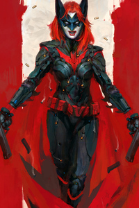 360x640 Batwoman Artwork 4k