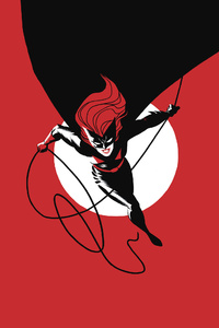 Batwoman Comic Art