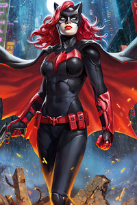 1440x2960 Batwoman Fantastic