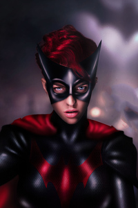 320x480 Batwoman Ruby Rose 4k