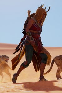 Bayek Assassins Creed Origins Ubisoft 5k