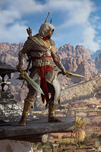 720x1280 Bayek Of Siwa Assassins Creed Origins