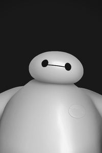 640x1136 Baymax Big Hero 6