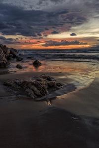 Beach Ocean 4k