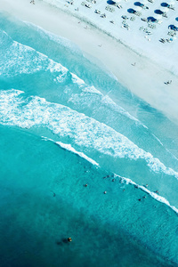 Beach Seashore Aerial Photography