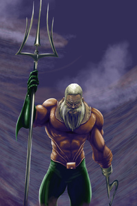 Bearded Aquaman