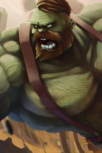Bearded Steampunk Hulk