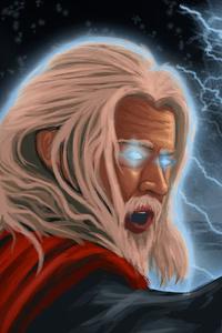 Bearded Thor Avengers Endgame 4k