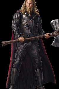 1280x2120 Bearded Thor