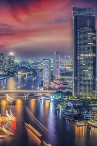 320x480 Beautiful Bangkok City