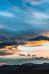 Beautiful Clouds Landscape 5k