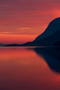 Beautiful Evening Landscape 4k