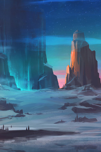 Beautiful Landscape Digital Art 4k