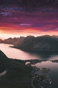 640x1136 Beautiful Landscape View Of Mountains